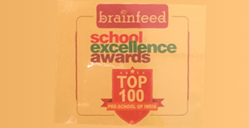 "Oi Jubilee Hills listed among ""Top 100 Playschools of India"" by Brainfeed School Excellence Awards."