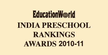 Firstcry Intellitots Preschool Jubilee hills ranked number 6 by EducationWorld for INDIA'S MOST ADMIRED PLAYSCHOOL in Hyderabad