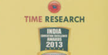 """Fastest Growing Preschool Chain in India"" – by Time Research in association with India News."