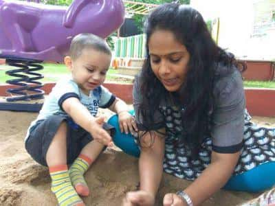 Ms Sharadha, M/o Lavith, Nursery