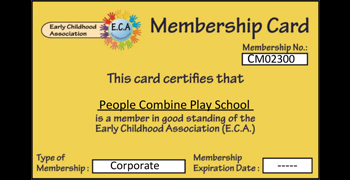 Oi Playschool is now a member of Early Childhood Association