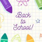 Summer ends, School begins
