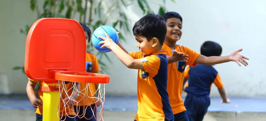 Outdoor Play, Children Playing,Firstcry Intellitots Preschool, Children Games